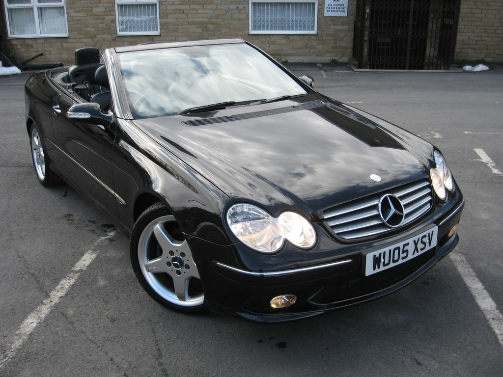 2005 05 mercedes clk 200 elegance kompressor auto convertible amg clever automotive. Black Bedroom Furniture Sets. Home Design Ideas